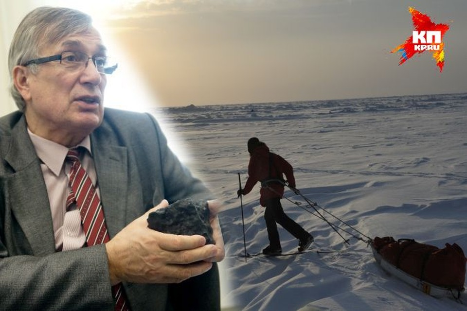 """Виктор Гроховский: """"Эта экспедиция нам нужна не только, чтобы не отставать от других стран. В России интенсивно развиваются метеоритные исследования. А в Антарктиде хранятся такие редкие экземпляры, каких нельзя найти больше нигде в мире"""""""
