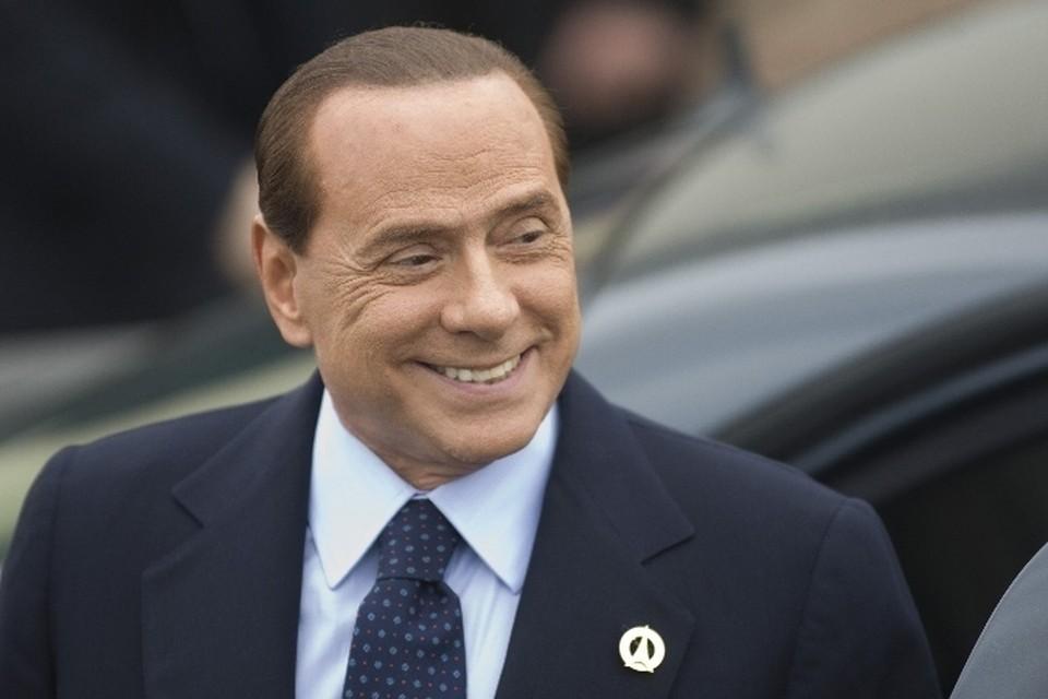 Экс-премьер Италии Сельвио Берлускони.
