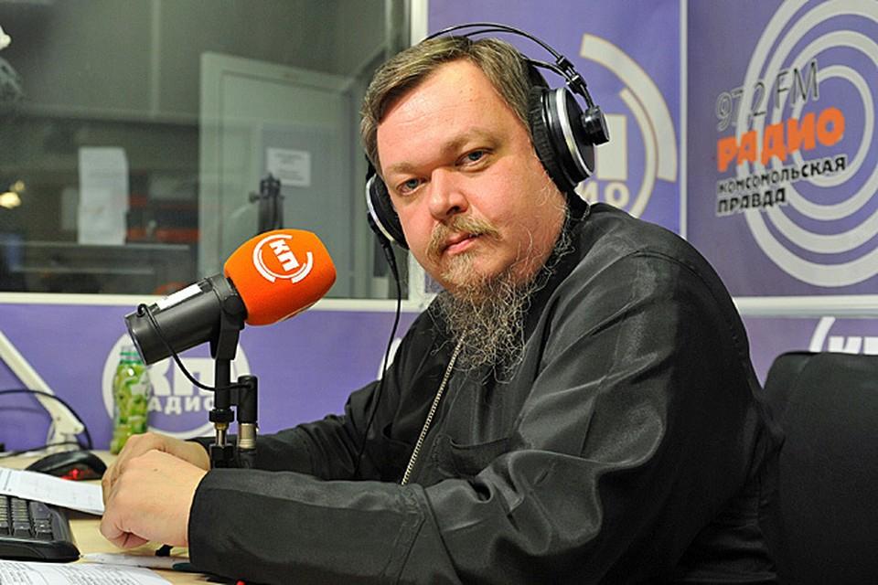 Премьера новой программы Всеволода Чаплина «220 вольт» на РАДИО «Комсомольская правда»