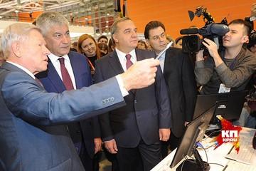 Министр Владимир Пучков посетил Международную выставку средств обеспечения безопасности государства «Интерполитех-2015»