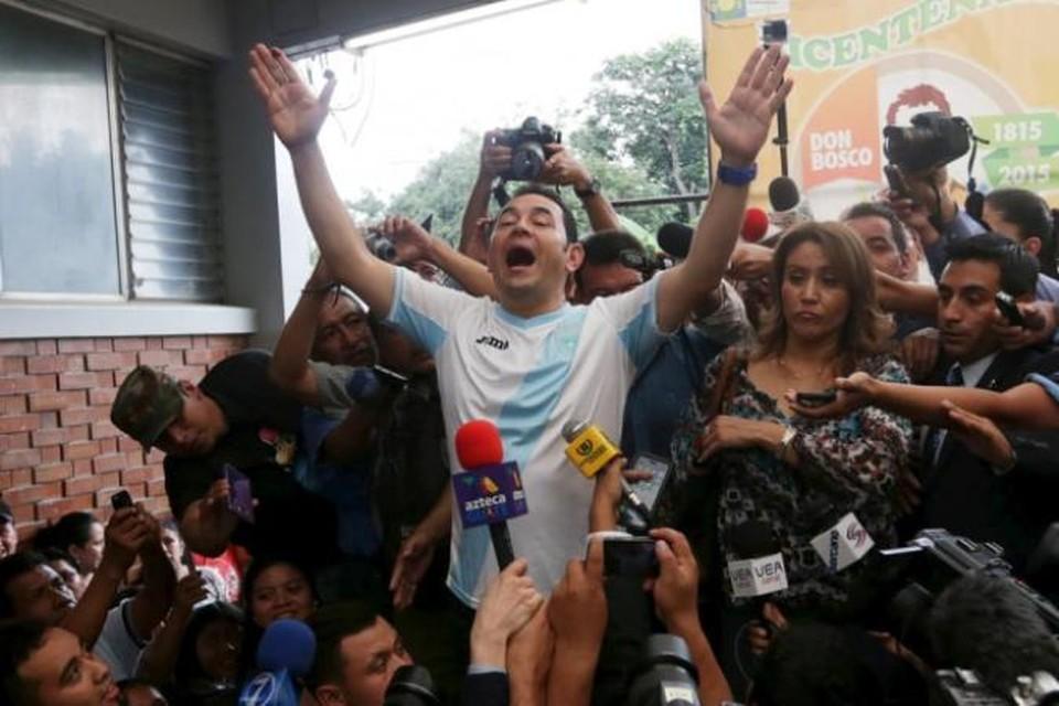 Телевизионный комик Джимми Моралес может стать президентом Гватемалы