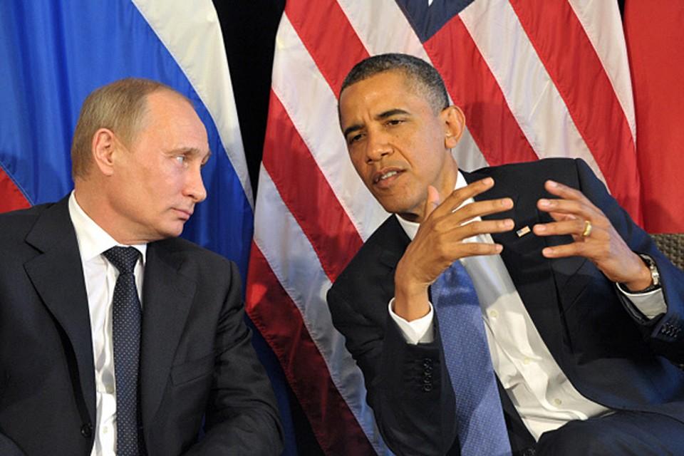 Время встречи Обамы и Путина все еще не намечено