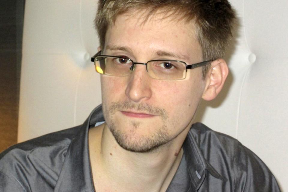 Эдвард Сноуден.