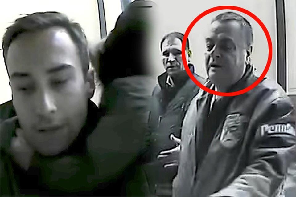 Во время прогулки с сыном на Шепелева напали 6 человек, среди которых был замечен и отец Жанны Фриске Владимир Борисович. Фото: кадр из видео