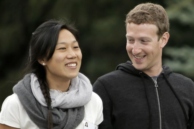 Марк Цукербрег счастливо женат на своей подруге по университету Присцилле Чан. Фото: EAST NEWS.