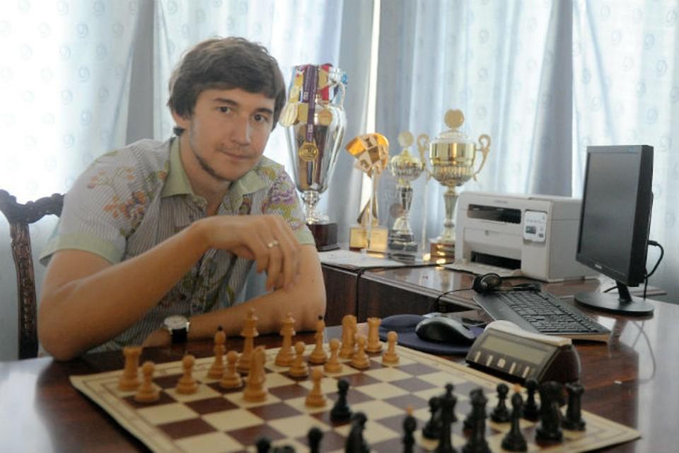 Гроссмейстер Сергей Карякин. Фото: Иванов Константин