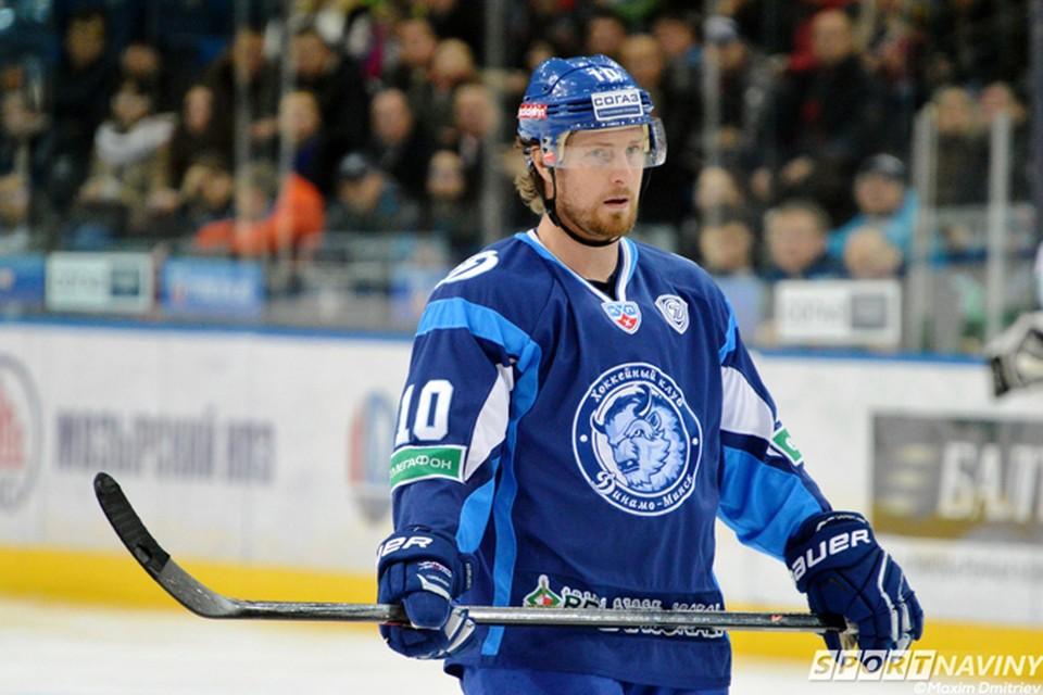 В последних двух сезонах Мэтт Эллисон - лидер минского «Динамо». Фото: sportnaviny.com