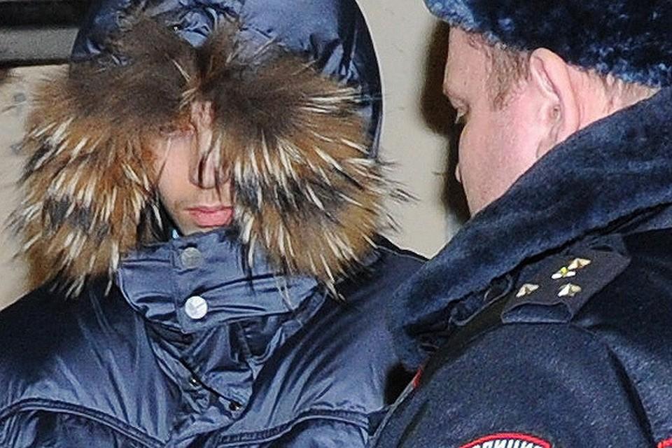 Сергей Гордеев после задержания.