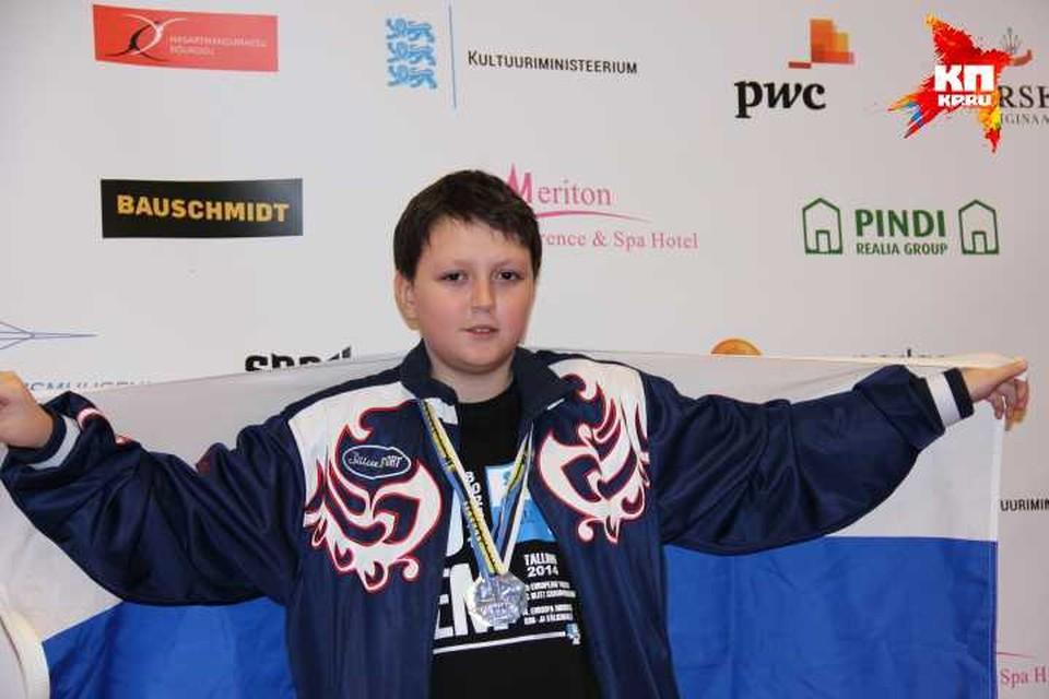 Данила Павлов связывает свое будущее только с шахматами. Фото: семейный архив