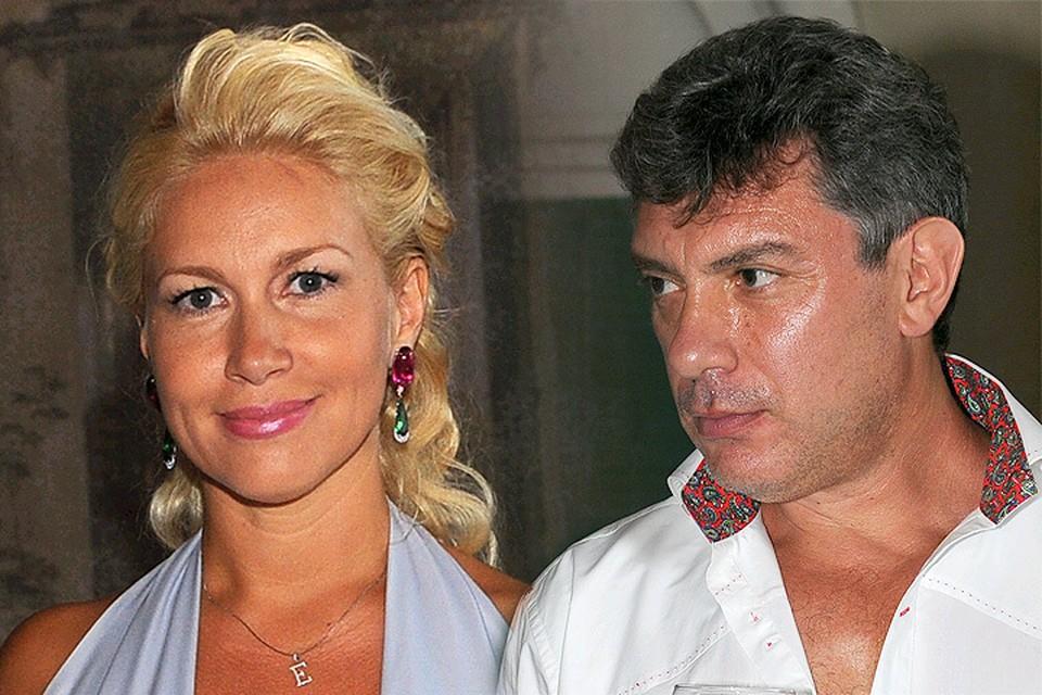 Екатерина Одинцова и Борис Немцов в 2011 году.