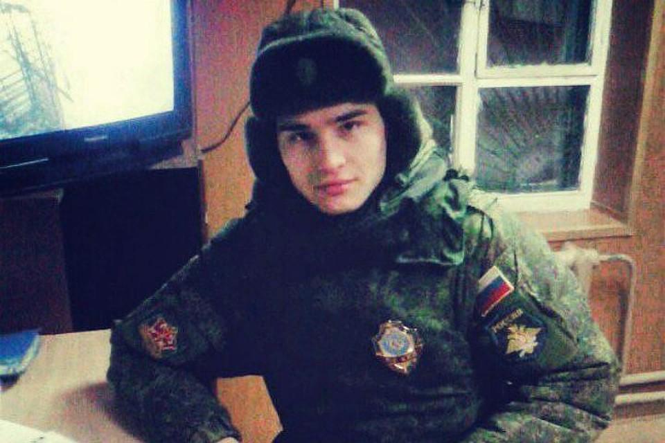 Подозреваемый в убийстве Давид Зиганшин. Фото: СОЦСЕТИ