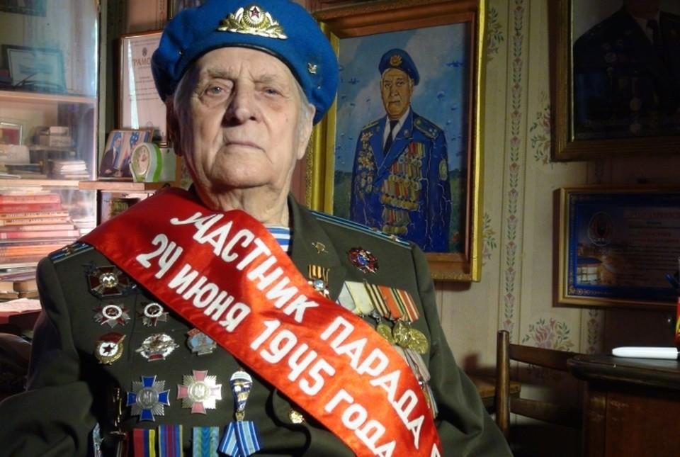 Сергей Тарновский сегодня единственный на Донбассе живой свидетель того исторического Парада Победы