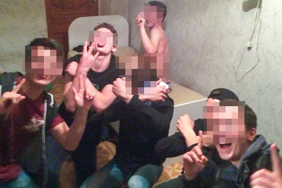 видео изнасидовали кольницу