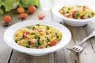 Рис и овощами и ароматным карри. Готовится легко и быстро. На него потратите не больше 30 минут!