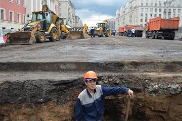Москва, большой ремонт: по кочкам, по кочкам, в ямку – бух