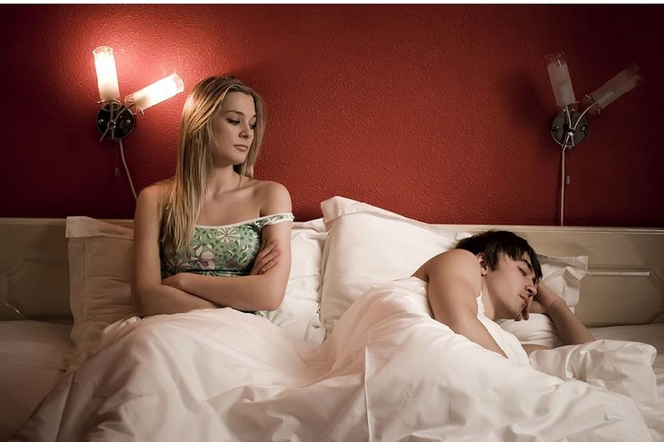 Заснуть во время секса это