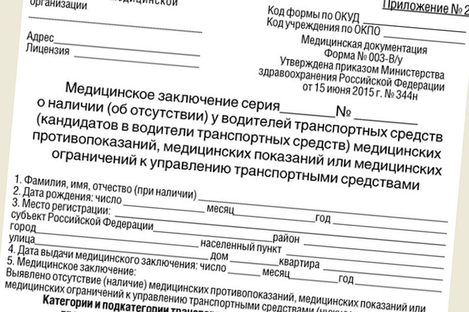 Медицинская справка для водителя в туле Медицинская карта ребенка 3-я Январская улица (поселок совхоза Крекшино)