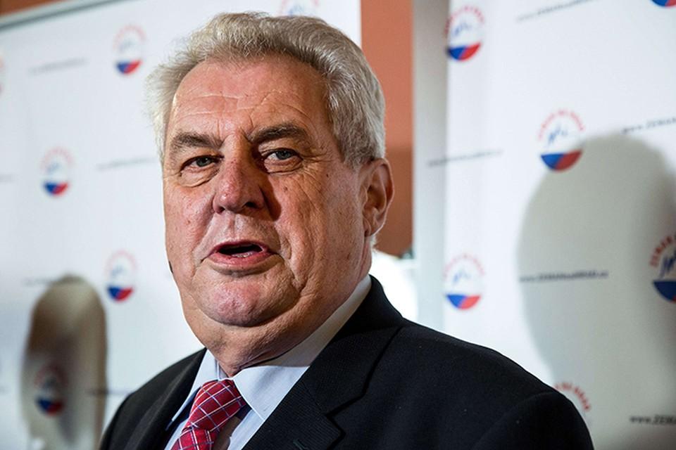 Президент Чехии не имеет реальной власти, поэтому его призыв, скорее всего, останется без последствий
