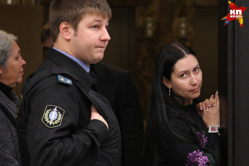 Анжела-Мария Цапок ходила на все заседания в суде