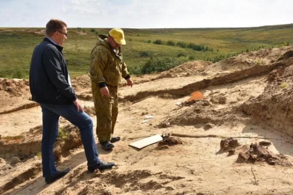 В Тазовском районе археологи изучают захоронения 10-14 и 3-5 веков. Фото tasu.ru