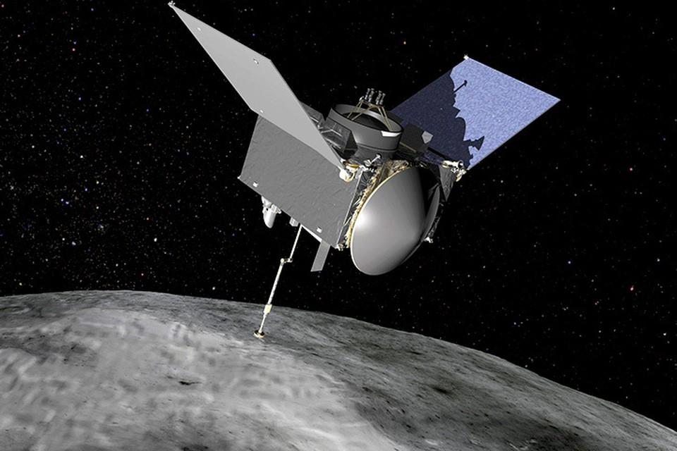 Компьютерное моделирование работы зонда OSIRIS-REx.
