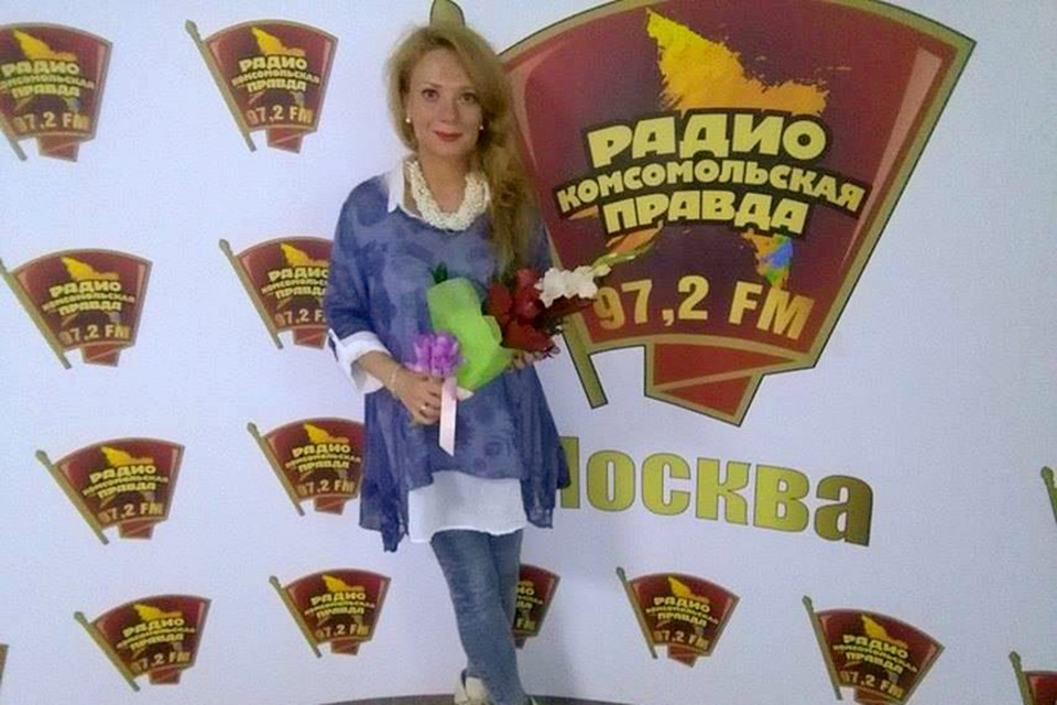 """Юлиана Плискина, автор книги """"Мифоеды"""", в гостях у Радио """"Комсомольская правда"""""""