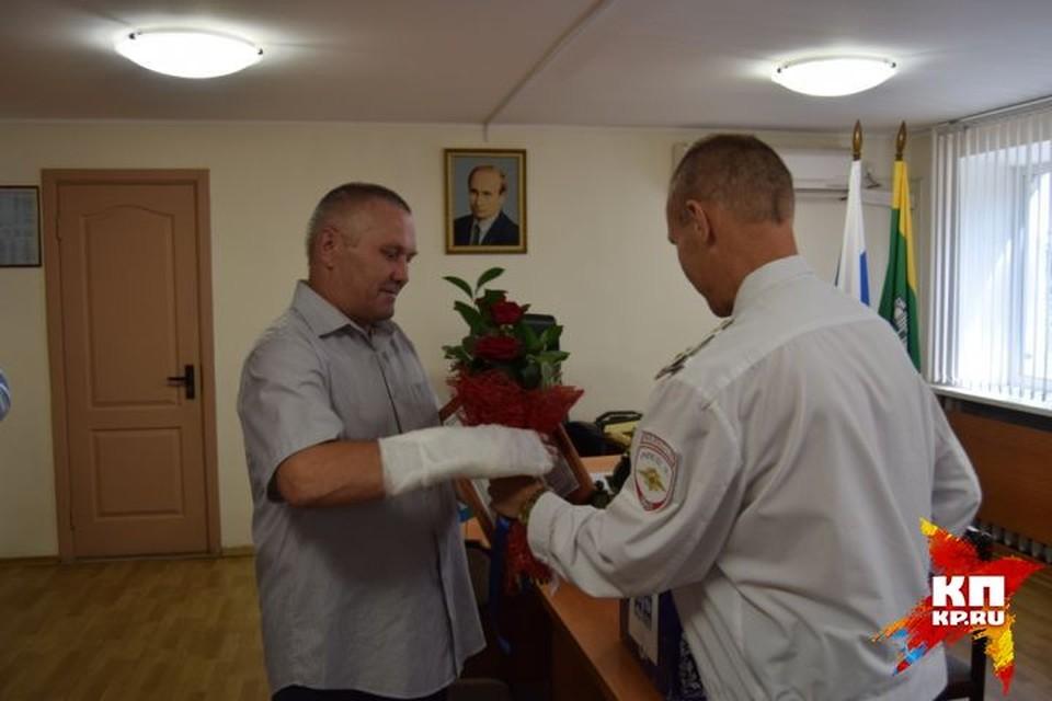 Ранее Александра Продовикова уже награждали в полиции и в администрации Екатеринбурга. Фото: ГУ МВД по Свердловской области