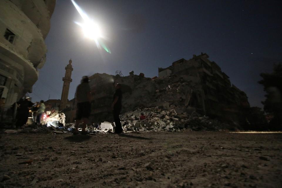 ЕС обвинил Россию и Сирию в «намеренных ударах» по Алеппо
