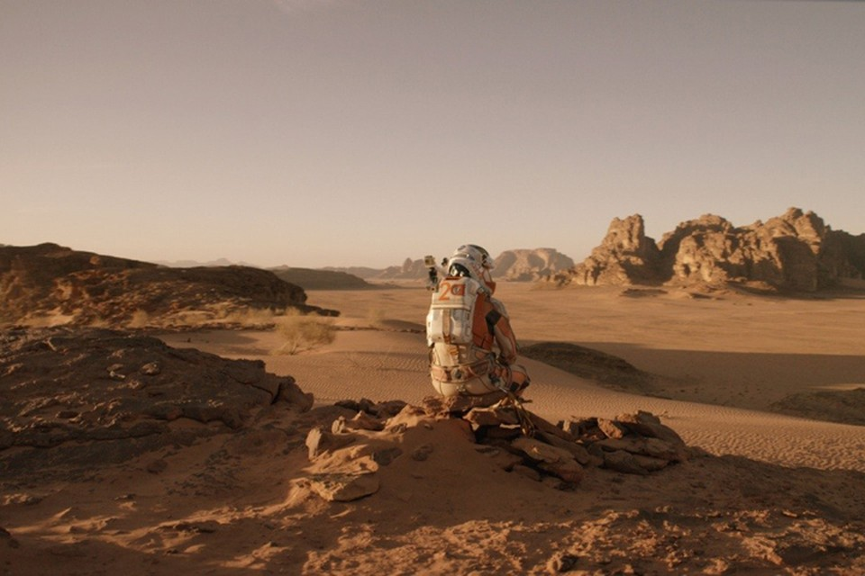 """Украинские космонавты собрались на Марс Фото: кадр из фильма """"Марсианин"""""""