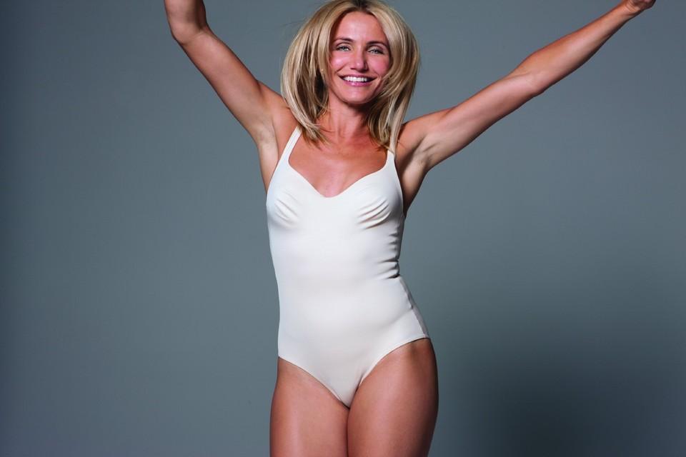 44-летняя Камерон Диаз занимается фитнесом и выглядит, как богиня. Фото: foodielovesfitness.com