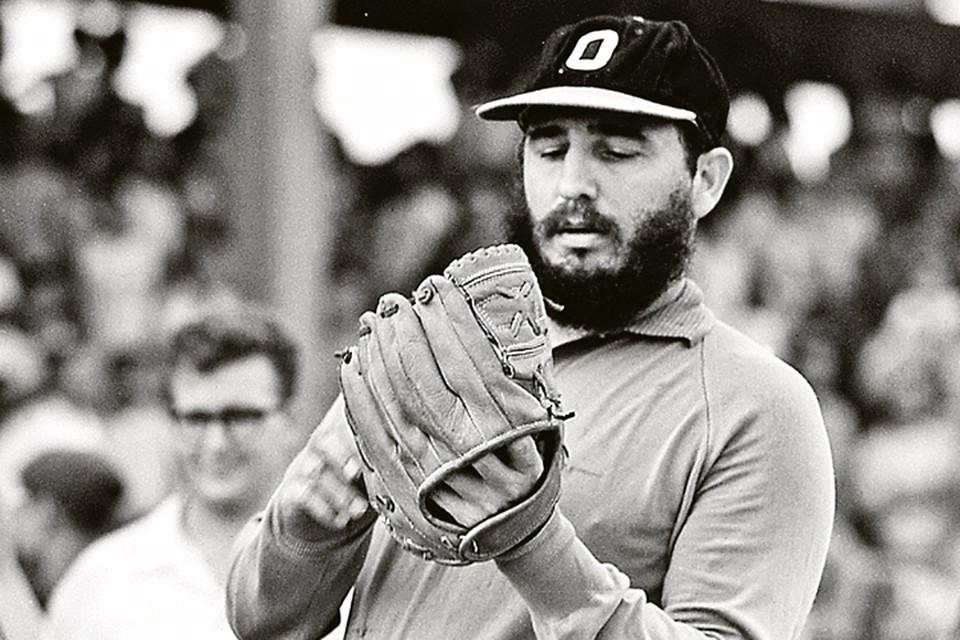 Все-таки команданте был не совсем чужд американскому образу жизни. Например, любил бейсбол. Фото: PRENSA LATINA/REUTERS