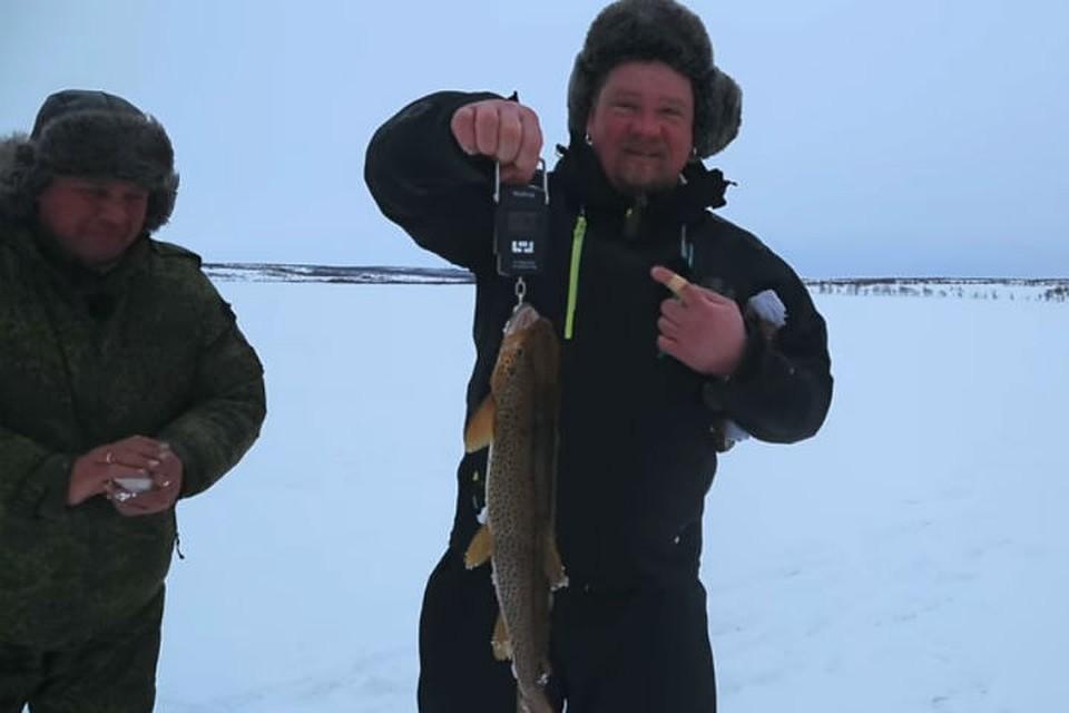 харламов про рыбалку