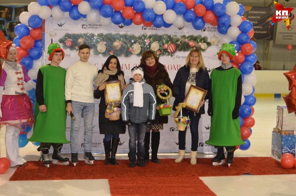 Два орловских интерната Некрасовский и Тельчинский получили новенькие лыжи