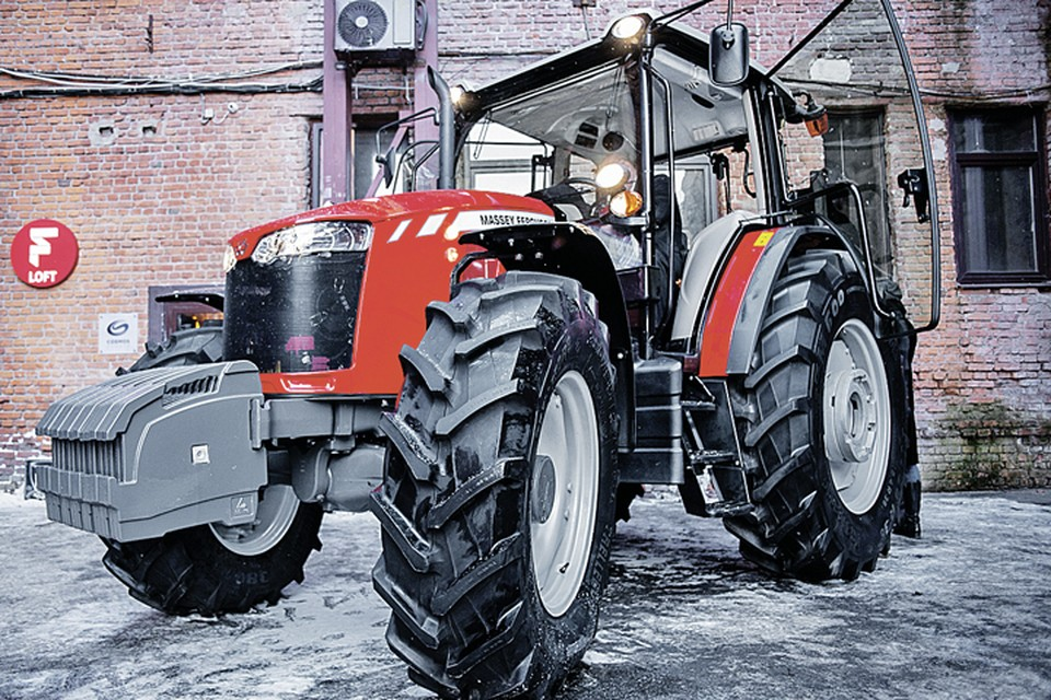 В феврале 2017 года планируется серийная сборка тракторов Massey Ferguson 6-й серии. Фото: Русские машины