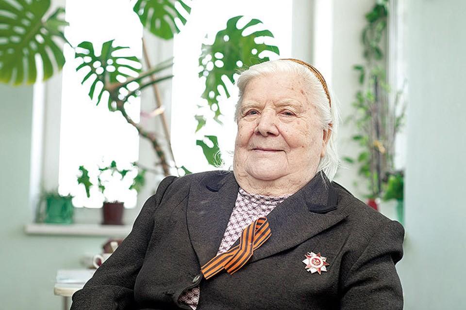 Самарский ветеран Вера Викторовна Каргина.