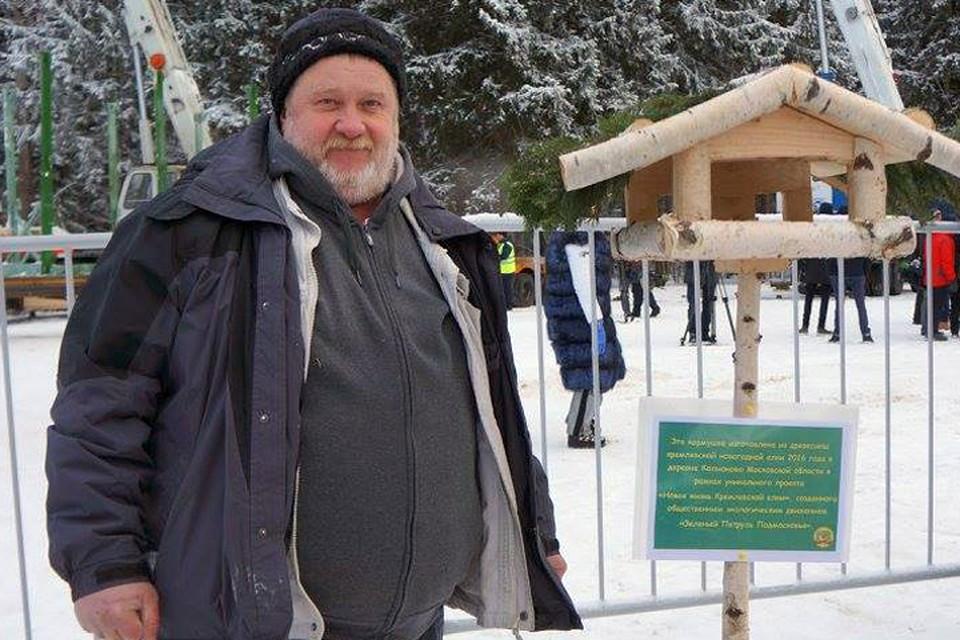 Фермер Михаил Шляпников.