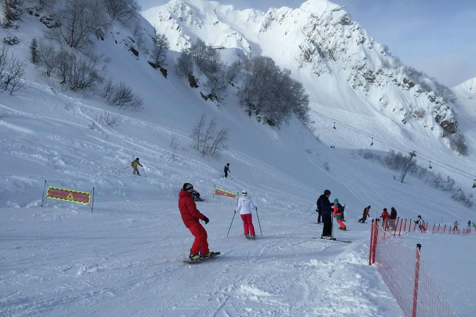 Сочи очень популярен среди самарских лыжников