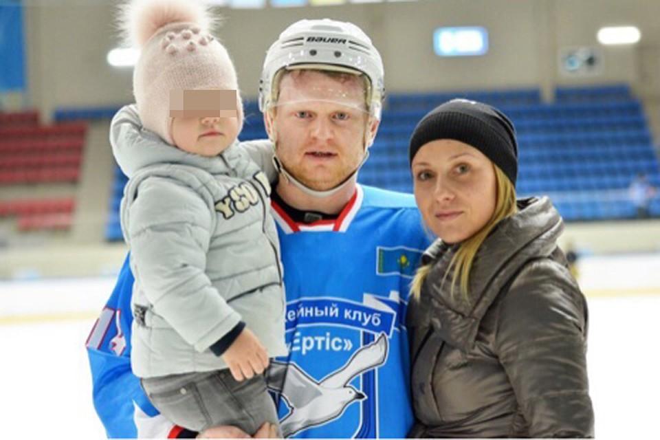 «Ермак» выплатит жене погибшего из-за солнечного удара хоккеиста 3,2 миллиона рублей. Фото: личный архив Анны Соколовой.