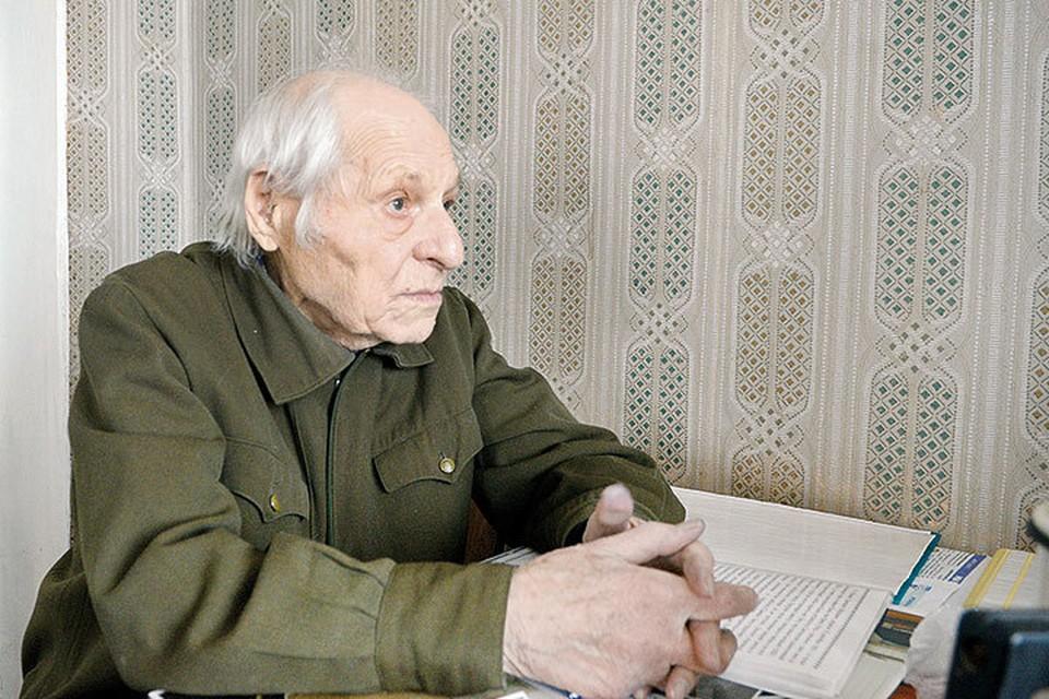 Зиновию Марковичу 96. Родился он в Смоленске в 1920 году.