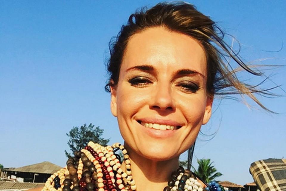 Актриса улетела на каникулы в Индию