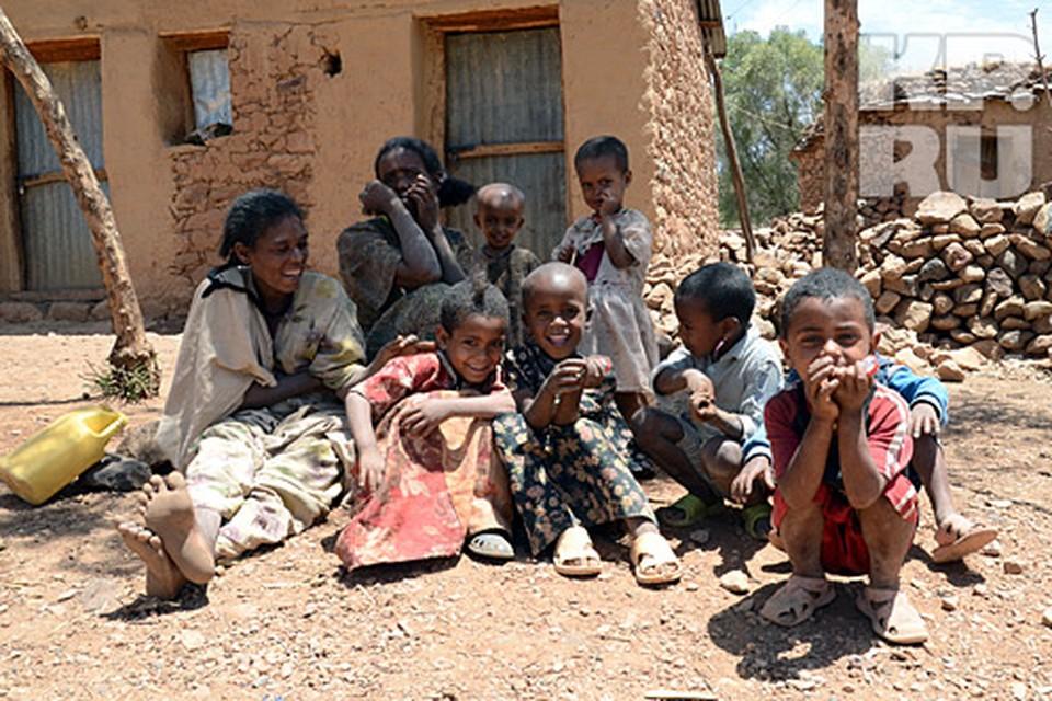 Амхарская деревня