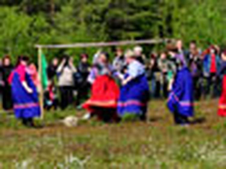 В старинном селе прошли в 26-й раз прошли Саамские игры