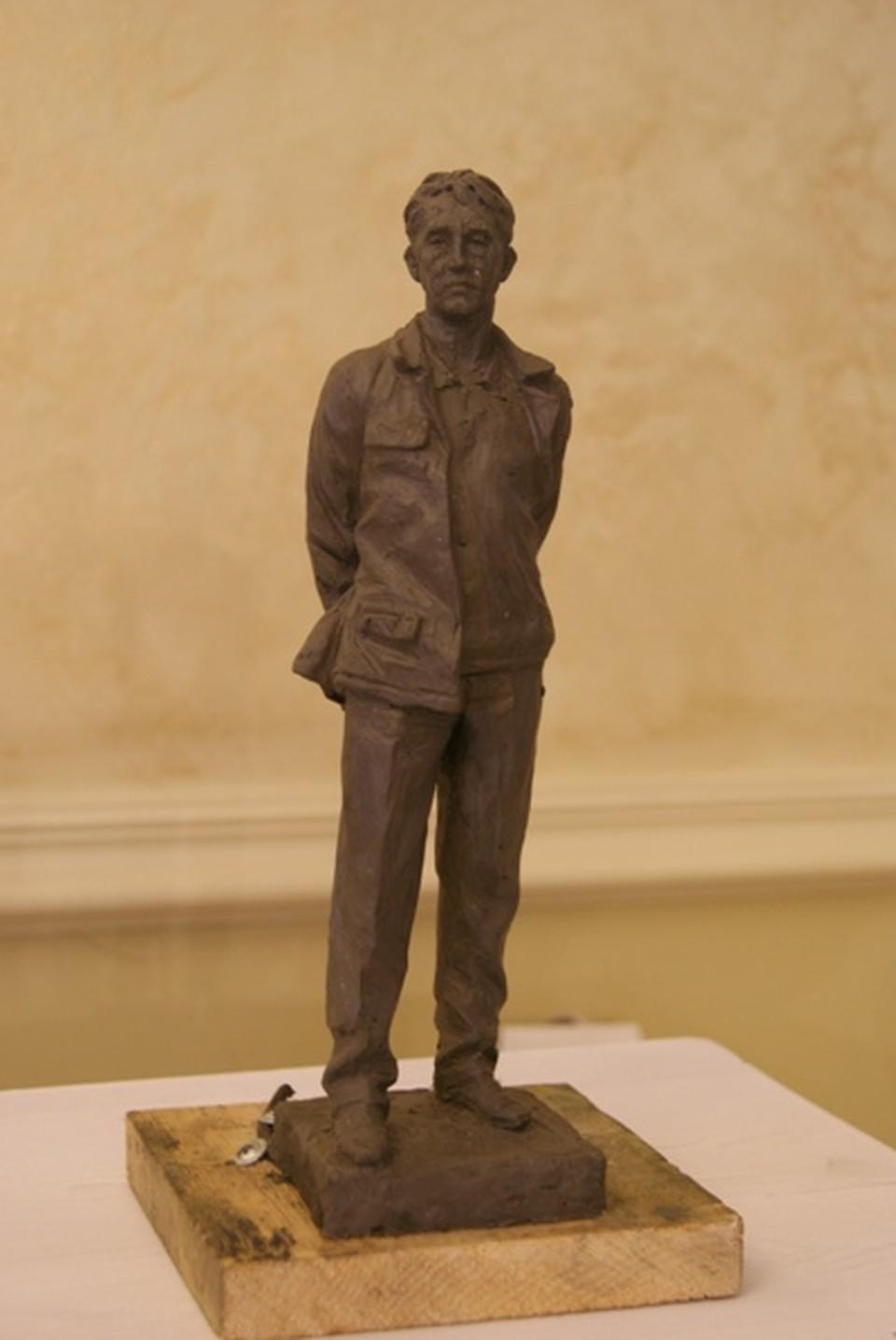 Такой памятник Юрию Ножикову появится в Иркутске. Автор - скульптор из Москвы Игорь Яворский
