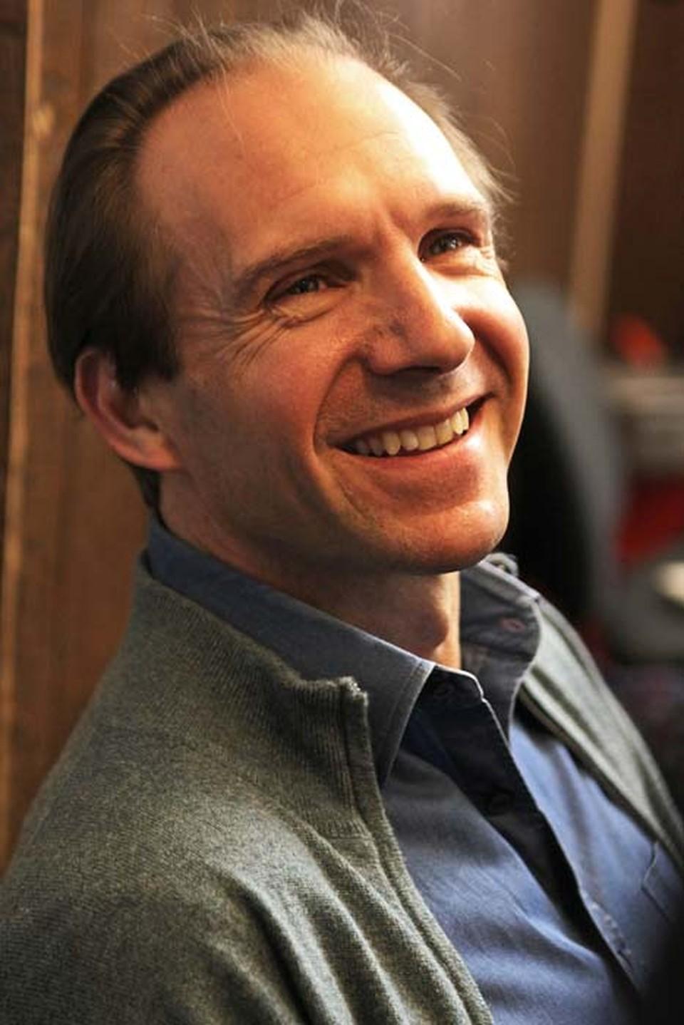Почетным гостем конференции был актер и режиссер Рэйф Файнс