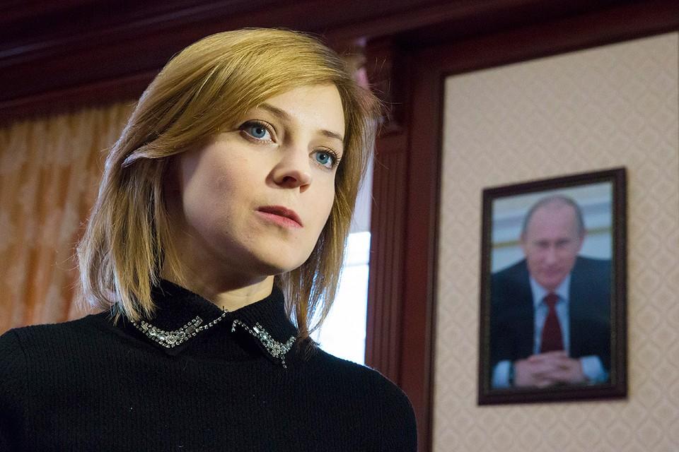 Прокурор Крыма Наталья Поклонская в рабочем кабинете. Фото: Руслан Шамуков/ТАСС
