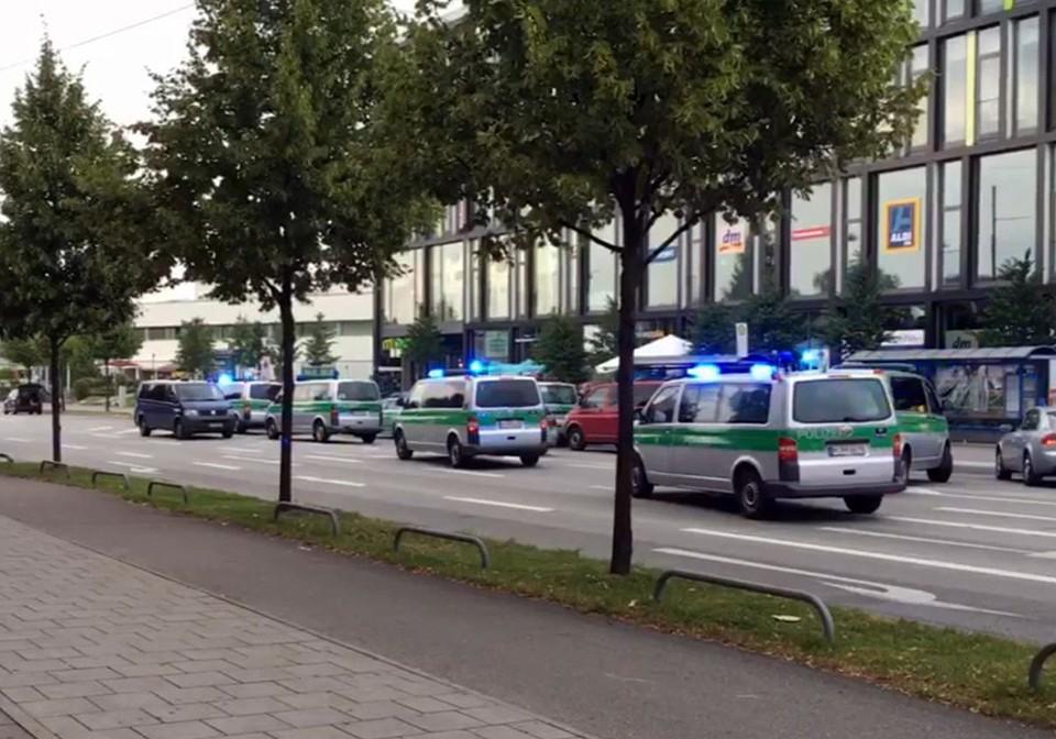 Стрельба в торговом центре в Мюнхене