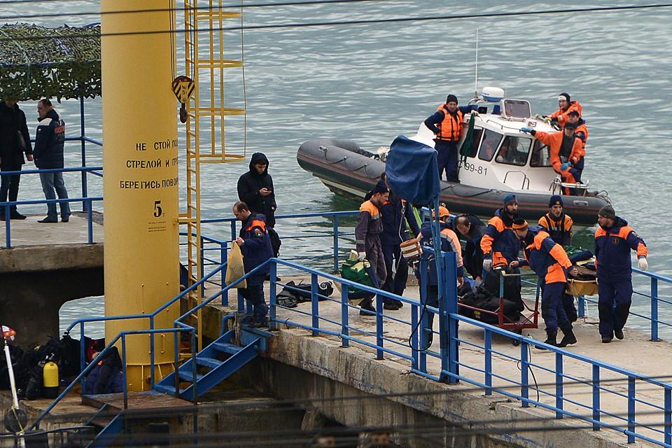 Поисково-спасательная операция на месте крушения ТУ-154 министерства обороны. Фото: Артур Лебедев/ТАСС
