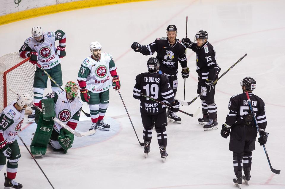 Челябинский «Трактор» обыграл обладателя Кубка Гагарина казанский «Ак Барс»