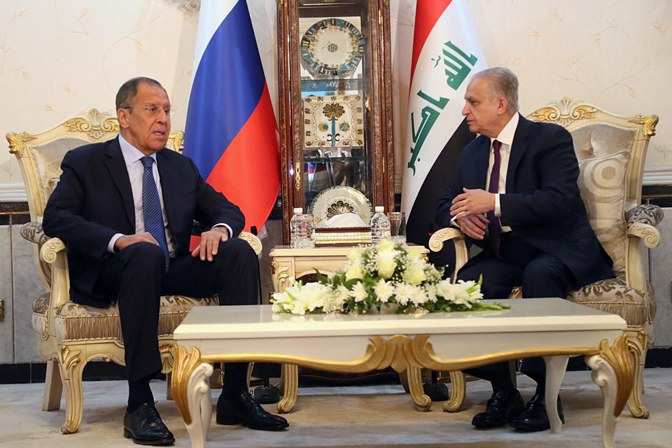 Глава МИД РФ Сергей Лавров, впервые за последние пять лет прибыл с визитом в Ирак
