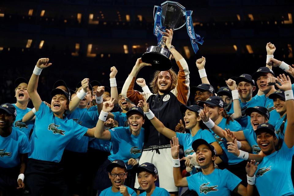 Греческий теннисист Стефанос Циципас стал победителем финала Итогового турнира Ассоциации теннисистов-профессионалов.